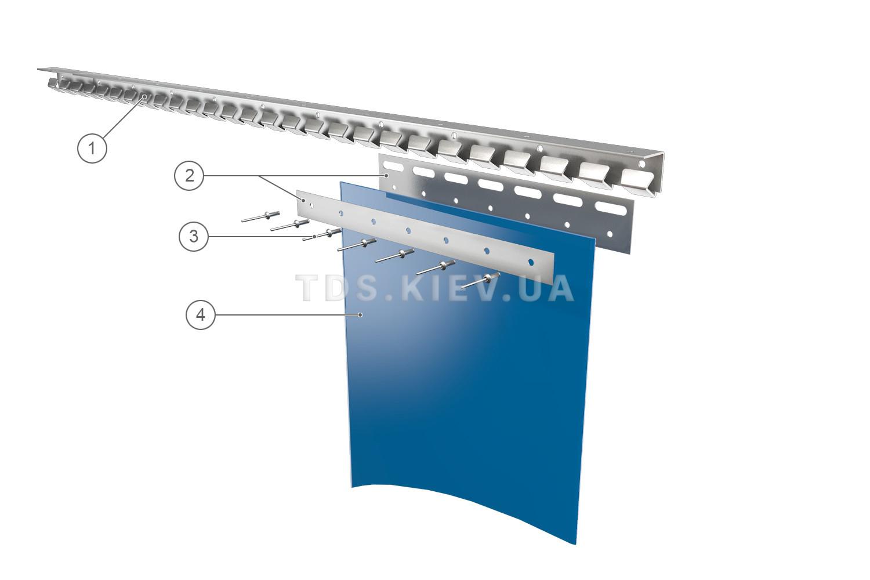 Схема термошторы